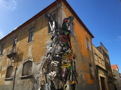 Recycled rabbit in Vila Nova de Gaia