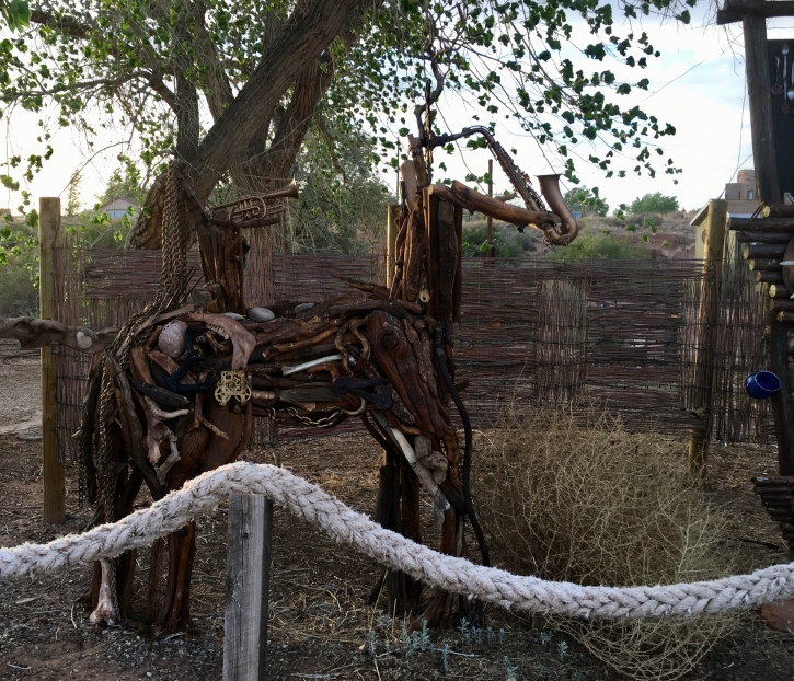 Horse scupture