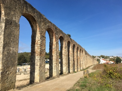 aqueduct in Óbidos