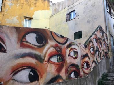 eyes in Lisbon