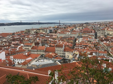 view of Lisbon from Castelo de S. Jorge