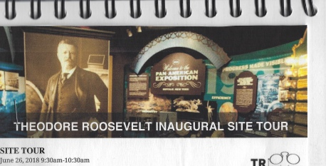 Theodore Roosevelt Inaugural Site ticket
