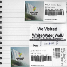 White Water Walk & Butterfly Conservatory tickets