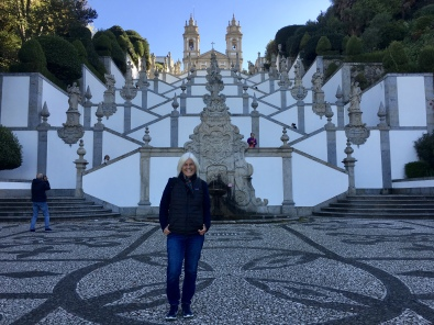 me at Bom Jesus do Monte