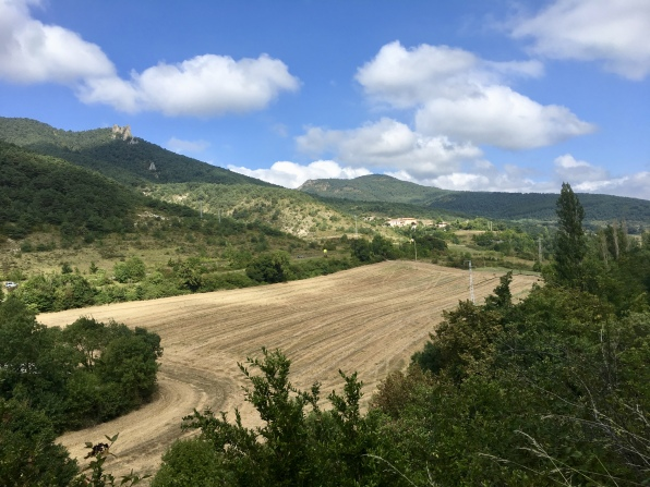 farmland on the way to Zabaldika