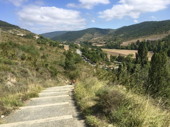 on the way to Puente de Arre