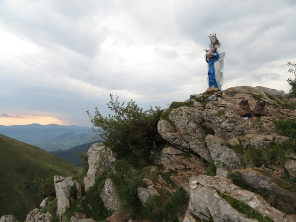 Vierge d'Orisson Vierge de Biakorri