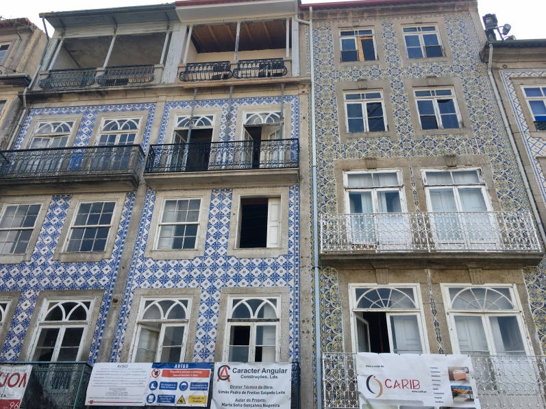 azulejo-covered buildings