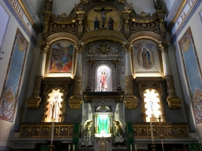 inside the Church of San Lorenzo