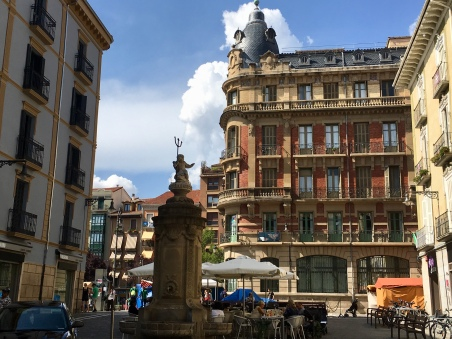square in Pamplona