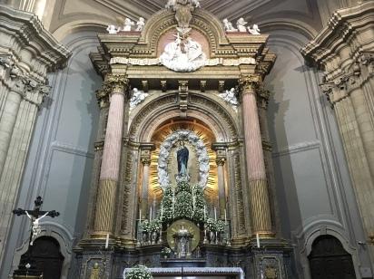 inside Nossa Senhora do Sameiro