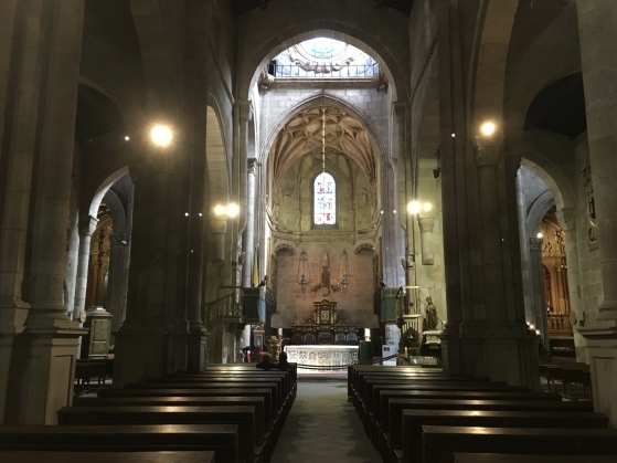 interior of Sé de Braga