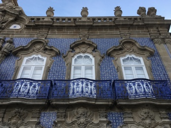 balconies at Palácio do Raio