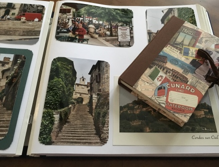 Cordes-sur-Ciel and my journal