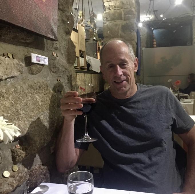 Mike at Cozinha da SÉ
