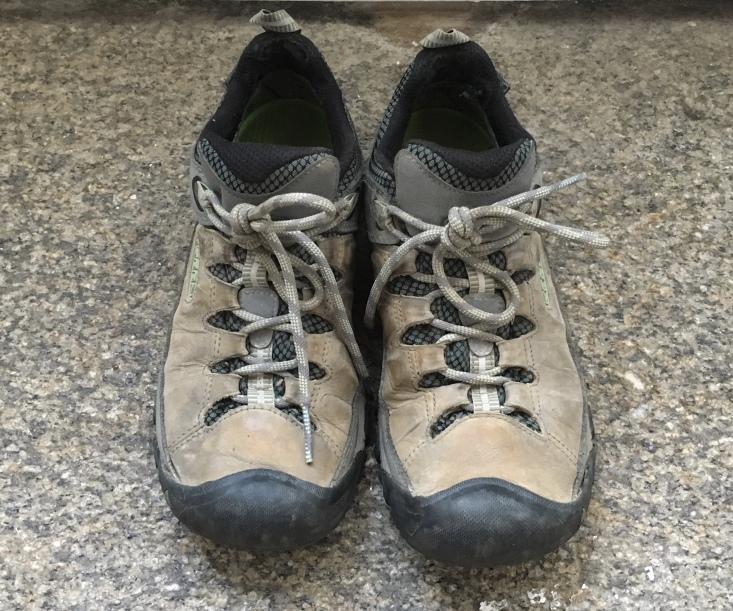 my trusty Keen Targhee boots