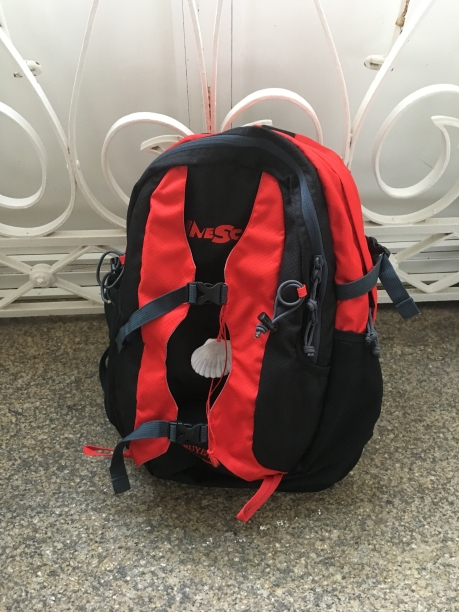my red daypack