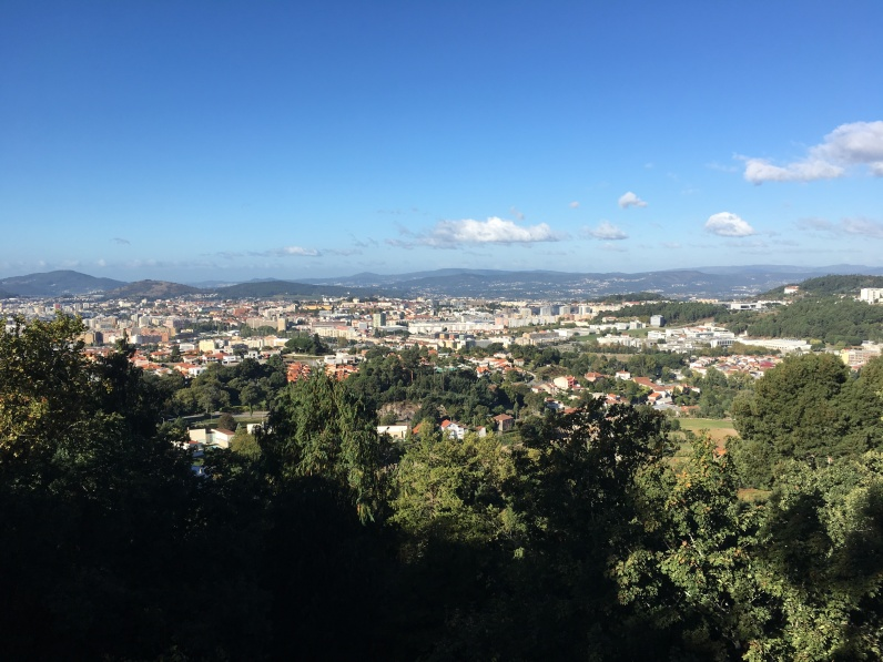 veiw of Braga from Bom Jesus