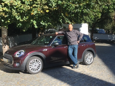 Mike and the Mini-Cooper Clubman