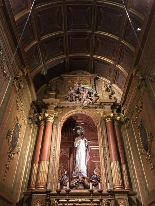 inside Sé de Braga