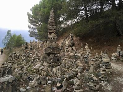 cairn installation