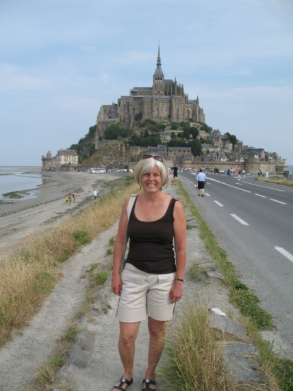 me at Mont St. Michel