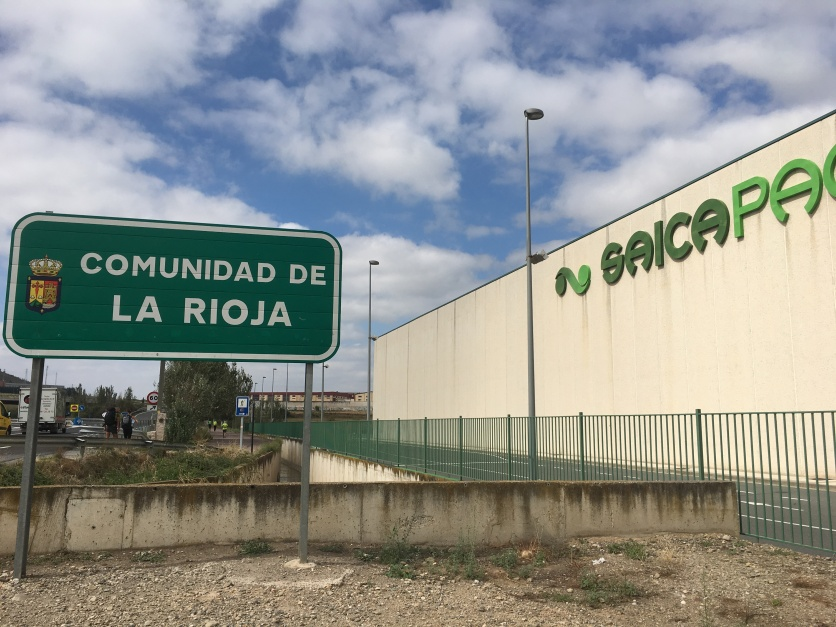 crossing into La Rioja