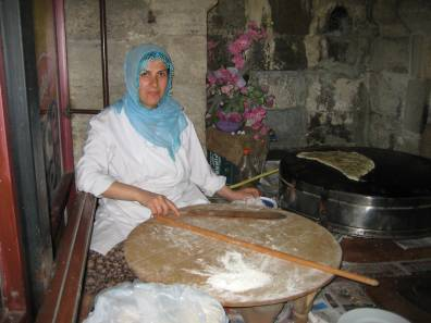 Turkish baker