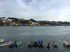 views from City Sightseeing Bus of the Rio Douro