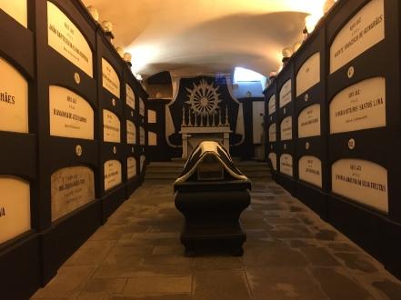 crypt at Museum at Igreja de São Francisco