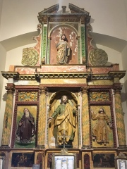 altarpiece in museum