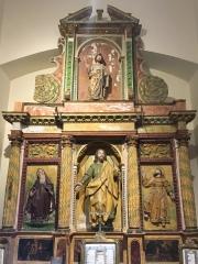 altarpiece in museum
