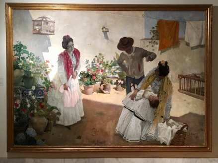 painting at Museo de la Rioja