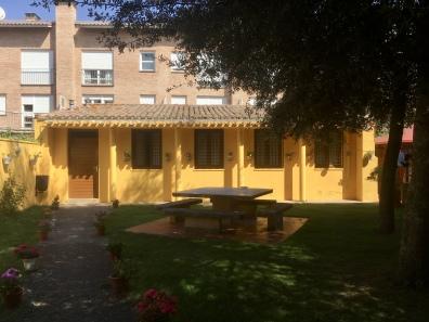 courtyard at Casa de la Cofradía del Santo