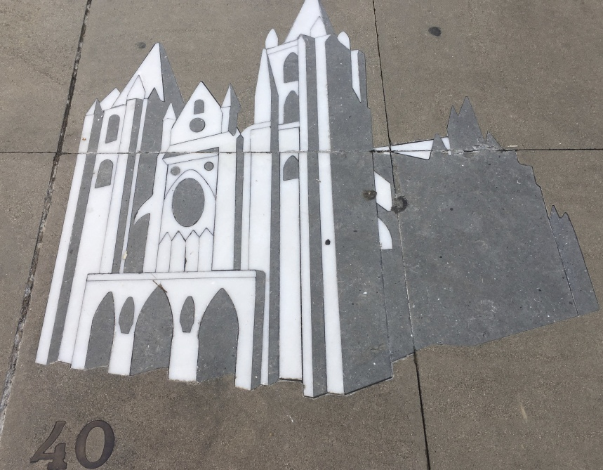 sidewalk cathedral