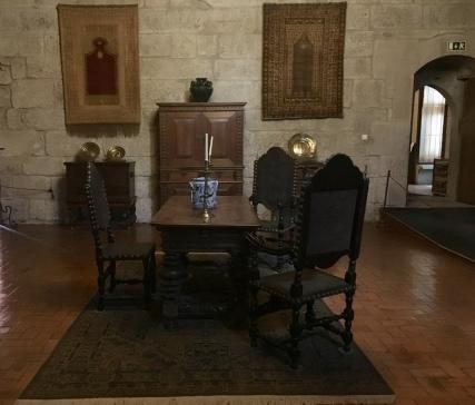 Interior of Paço dos Duques de Bragança