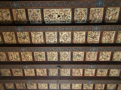 ceiling of Paço dos Duques de Bragança