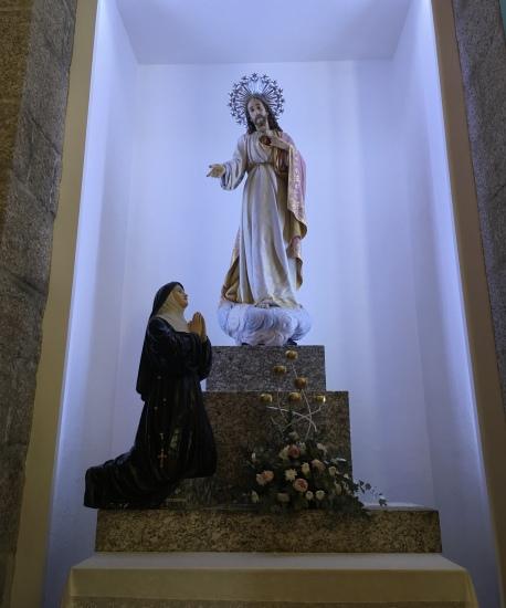 Interior of Santuario da Penha