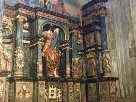 interior of Cathedral of Santo Domingo