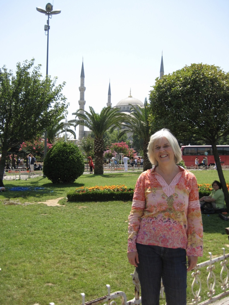 me at Sultanahmet