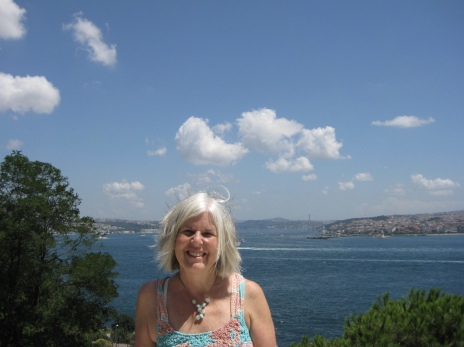 me at Topkapi Palace