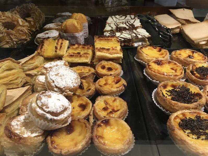 pastel de nata in Amarante