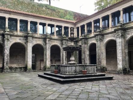 cloister at Igreja de São Gonçalo