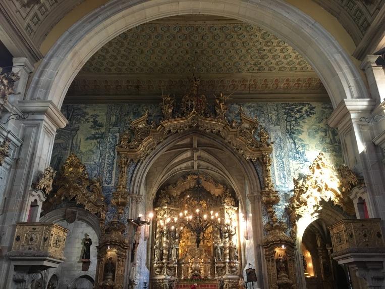 interior Igreja de São Francisco