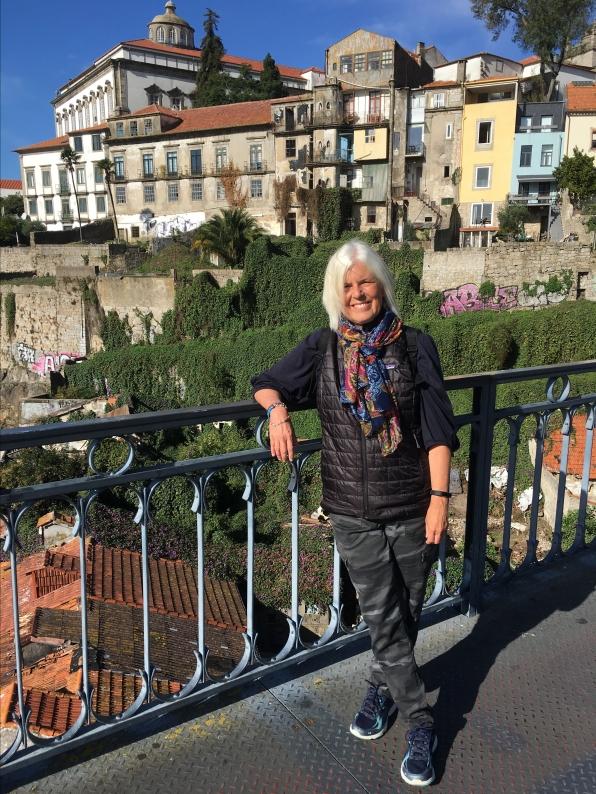 me on the Ponte de Dom Luis I