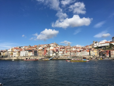 Rio Douro looking toward Ribeira