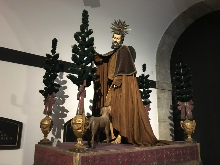 figure at Museum at Igreja de São Francisco