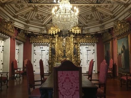 dining room at museum Museum at Igreja de São Francisco
