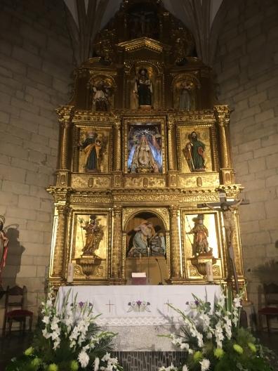 interior of Iglesia Parroquial de Ntra. Sra. de los Angeles