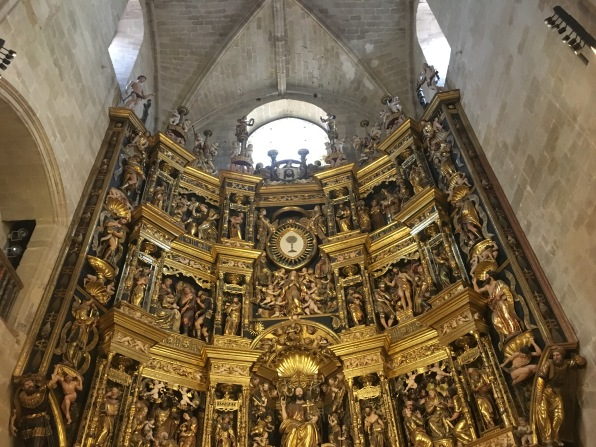 altarpiece of Cathedral of Santo Domingo